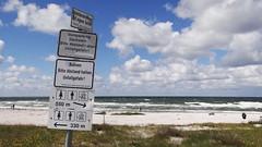 Verboten 49 (bernstrid) Tags: insel hiddensee verboten schilder strand mv wolken kloster