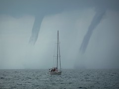 Waterspouts Piran (crystallakes) Tags: waterspout storm piran slovenia