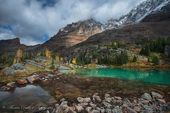 Memories in the Sky - Yoho National Park, B.C., Canada (Thomas J Dawson) Tags: yohonationalpark turquoiselake larch autumn snowcappedmountains britishcolombia opabinpass thomasdawsonphotography