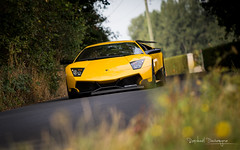 Murcilago SuperVeloce (Raph/D) Tags: lamborghini murcielago sv super veloce superveloce italian italy lambo santagata bolognese supercar rally 2016 chantilly exotic rare luxury sportscar car auto v12 engine speed yellow jaune catchy colors canon eos 7d mark ii canoneos7dmarkii l series lseries 70200mm ef70200mmf28lusm ferrucio peter automobile automotive jewel expensive exclusive wing fast awd bokeh