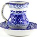 234. Delft Style Pitcher and Basin