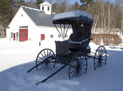 Good Ol days (jblock!) Tags: snow vermont country bedandbreakfast blizzard hdr inns