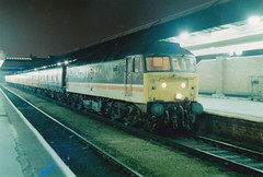 47523 (marcus.45111) Tags: night 1991 postal derby class47 47523