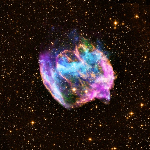 Supernova Remnant W49B (NASA, Chandra, 02/13/13)