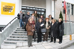 """12/02/2013 """"Ο Σύλλογος Φίλων  ΕΛΕΠΑΠ Θεσσαλονίκης επισκέφθηκε  τη Δημόσια Βιβλιοθήκη της Βέροιας"""