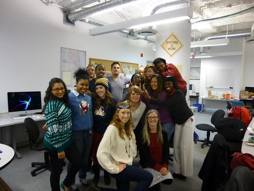 Journalism MA program: ugly Christmas sweaters