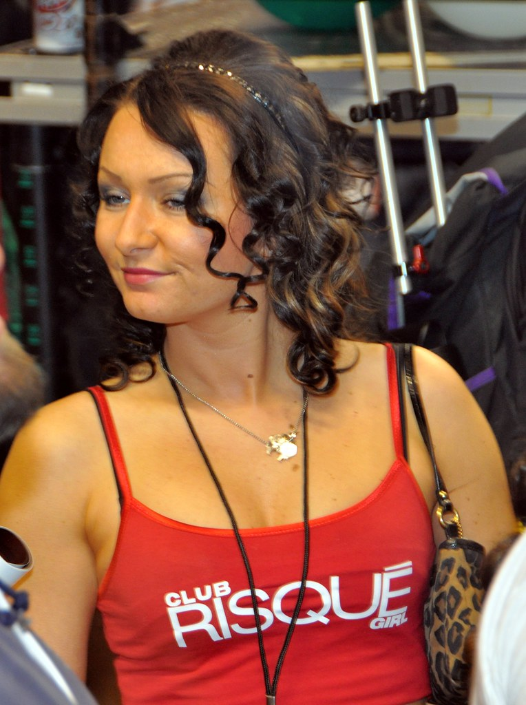Club Risque (Philly) Wingette (hootervillefan) Tags: red sexy philadelphia  club tank