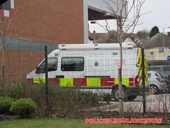 Staffordshire fire and rescue service/vauxhall movano/ welfare support unit/DX59 GXB (policeambulancefire(3)) Tags: blue rescue fire lights support service staffordshire vauxhall unit welfare sirens movano
