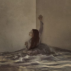 house of floods (brookeshaden) Tags: ocean house home water flood malibu workshop walls behindthescenes blogpost fineartphotography conceptualphotography brookeshaden