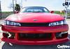 Samantha's S14 Glare (Braxen Photography) Tags: red white photography nissan photoshoot feature 240sx stance rota kouki braulio s14 p45 negreira braxen carsxhype