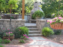 "Paver patio with outdoor fireplace • <a style=""font-size:0.8em;"" href=""http://www.flickr.com/photos/22274533@N08/8511444969/"" target=""_blank"">View on Flickr</a>"