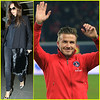 Victoria Beckham Leaves Paris After David Beckham s PSG Win