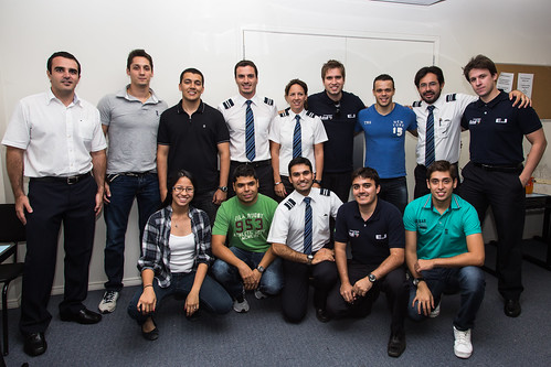 Primeira Turma do Curso de Performance de Aeronaves a Jato