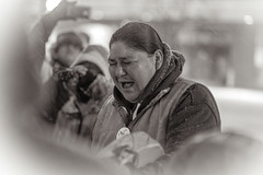 Vigil for the Water! 2/26/13 Madison, Wisconsin. (depthandtime) Tags: winter snow water wisconsin drum protest mining nativeamerican capitol madison drummer drumming drumcircle senate ironmine 22613 nativerights gtac idlenomore ab1sb1 february262013 vigilforwater