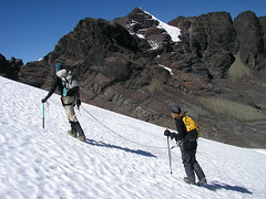 Ascent of P Alpamayo (adventure_alternative) Tags: latinamerica southamerica bolivia huaynapotosi pequenoalpamayo