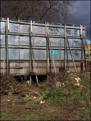 10Foot, Track, Norf... (Alex Ellison) Tags: urban mars graffiti track noho tag billboard sie northlondon opd norf 10foot norf1