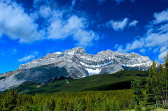 Cascade Mountain, Banff National Park (Cole Chase Photography) Tags: canada canon alberta banff albertacanada banffnationalpark t3i canadianrockies cascademountain