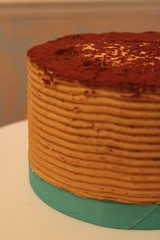 Caramel Layer Cake (crayonmonkey) Tags: home cake baking sweet decoration caramel layer treat cocoa leche buttercream