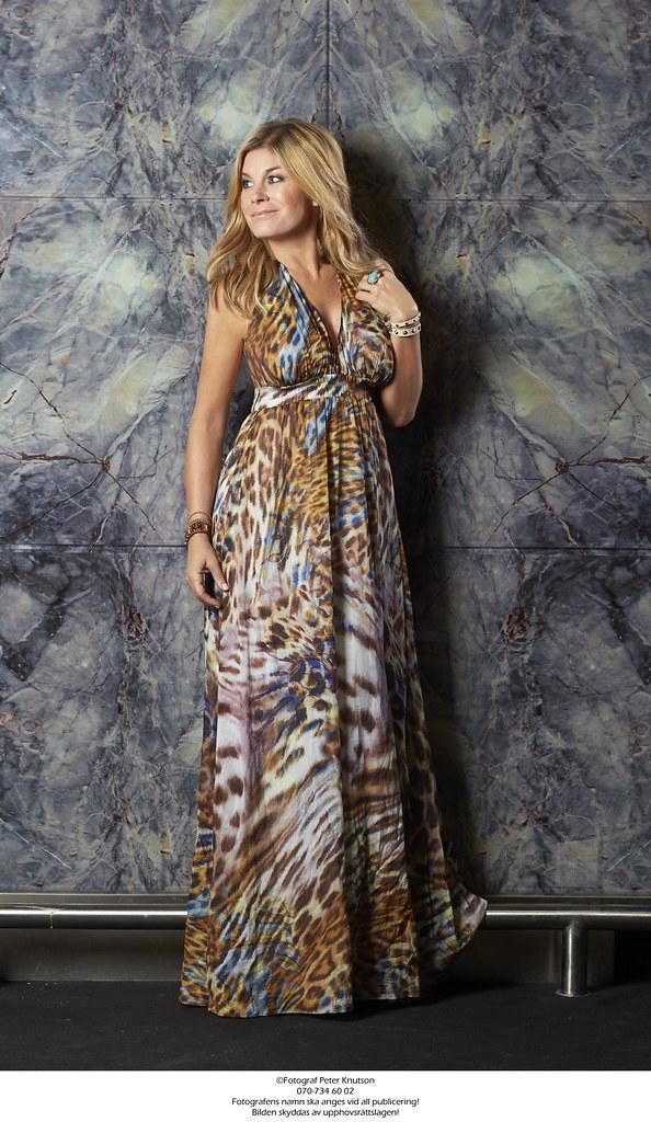 Silk voile maxi dress - Pernilla Wahlgren (Pernilla Wahlgren Collection)  Tags  dress klänning 3602d1498ab3c
