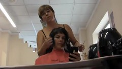 Long to Bob Haircut Makeover 10 (YouTube Link in Description) Tags: haircut hair cut bob buzzed nape