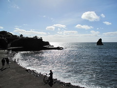 Sunday morning swim, west Funchal (Charlie Phillips) Tags: portugal island atlantic madeira funchal iberia