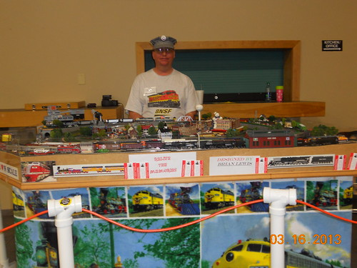 Model railroad train layout n-scale Springfield, Missouri 2013