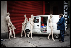 Road Trips For Dummies (Feldore) Tags: street england man london mannequin shop standing sony surreal oxford van dummy mchugh manequinn rx100 feldore