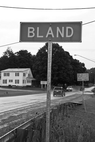 Welcome to Bland, where life is...