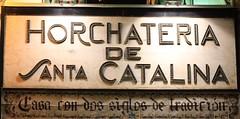 Horchatera de Santa Catalina (Jesus Garcia Gauses) Tags: valencia cartel fallas horchateradesantacatalina jessgarcagauses