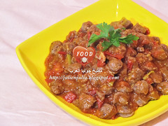 Oriental Sausages with Tomatoes (Food Lover ) Tags: dinner recipe yummy sausage delicious sausages recipes oriental