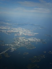 Helsinki from above (hugovk) Tags: from above camera city sea summer streets ferry digital plane buildings suomi finland island islands helsinki finnland ship flight july aerialview 2006 aeroplane balticsea baltic aerial aerialphoto roads helsingfors hvk lauttasaari windowseat kes uusimaa nyland hugovk exif:ISO_Speed=50 exif:Focal_Length=77mm digitalcamerads5mp exif:Flash=offdidnotfire exif:Aperture=30 exif:Orientation=horizontalnormal exif:Exposure_Bias=0 ds5mp camera:Model=ds5mp camera:Make=digitalcamera helsinkifromabove exif:Exposure=1645 meta:exif=1363878065