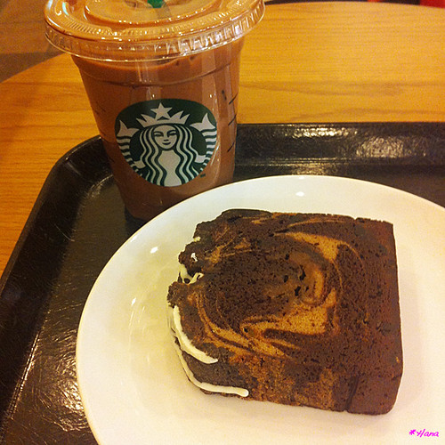 Starbucks Coffee カフェモカ,Coffee & Espresso CAKE - Caffe mocha