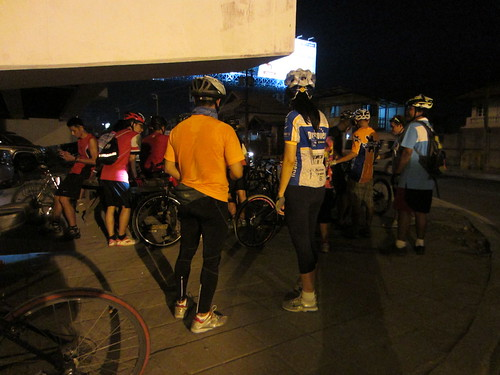 Kae Rai Cycling Club Night Ride 4/4/2013