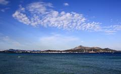 Platja del muro (Peeping Thom) Tags: sea sky panorama muro del spain meer himmel mallorca spanien platja balearen balears platjadelmuro