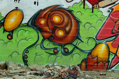 La Fabrica - 76 (r2hox) Tags: graffiti urbanart santiagodecompostela arteurbano abandonedspaces