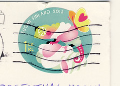 Finnland April 2 (postcardlady1) Tags: stamp briefmarke