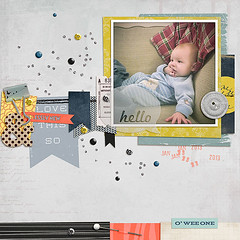 Love This So (twomoredays) Tags: baby black coral scrapbooking scatter digitalscrapbooking scraplift