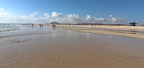the beach Corralejo