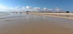 the beach Corralejo