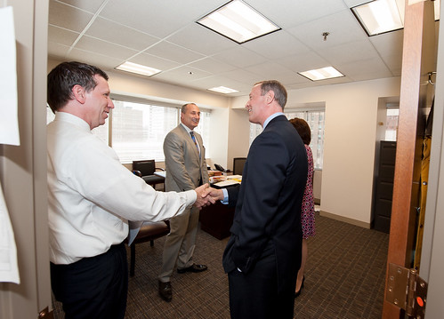 Governor Tours State's Attorney Gregg Be by MDGovpics, on Flickr