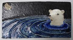 Polar bear (danahaneunjeong) Tags: bear ceramic polarbear nightsky icebear