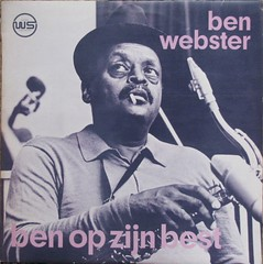 LP Ben Webster (streamer020nl) Tags: vinyl jazz lp ah record 1970 westside albertheijn sax saxophone laren 33rpm tenorsax ws benwebster elpee soundpush 6802656 dickbakker benopzijnbest