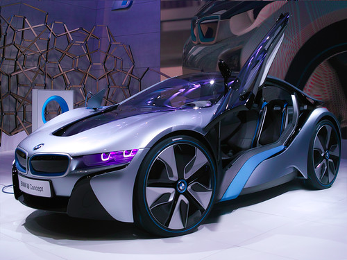 BMW i8 Concept mini @ TMS2011