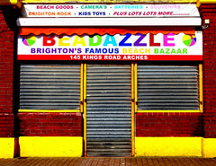 Beadazzle Shop On Brighton Seafront (grahambrown1965) Tags: shop sussex brighton pentax highcontrast seafront eastsussex mx1 beadazzle justpentax pentaxart pentaxmx1 beadazzleshop