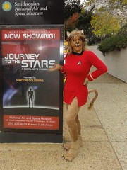 Waaaaay ahead of you (rgaines) Tags: startrek drag smithsonian costume cosplay series animated nationalairandspacemuseum crossplay mress caitian sttas