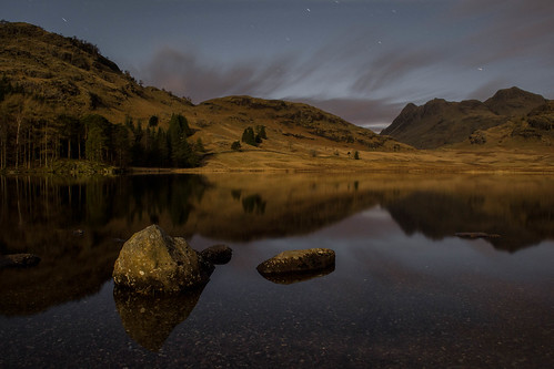 Blea Tarn Moonlight