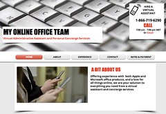Webpage (poopsie1957) Tags: virtual services concierge administrative assistantl