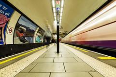 Clapham Common (ca2cal) Tags: longexposure england people blur london station sign train underground tube rail railway line motionblur website common northern clapham claphamcommon lambeth northernline greaterlondon project366