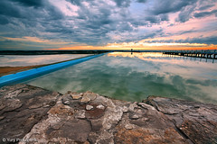 Rock Pool (renatonovi1) Tags: pool narrabeen sea ocean water sunrise clouds sky nature coast sydney nsw australia seascape landscape