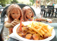 Mittagspause im Park ... (Kindergartenkinder) Tags: dolls himstedt annette kindergartenkinder essen park gruga garten kind tivi annemoni